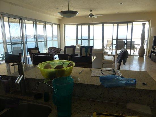 Condo-Hotel Playa Blanca: Living room