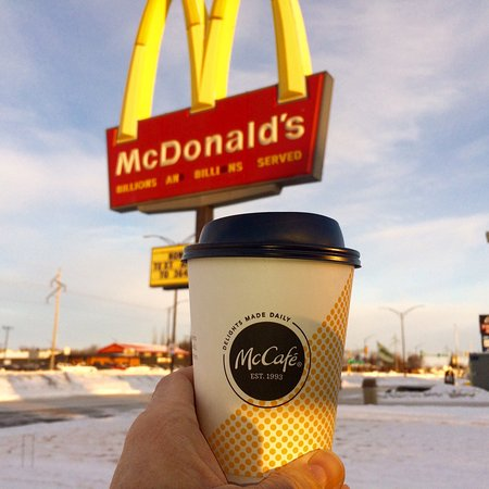 Good Morning Coffee at Mickey D's in East Grand Forks!