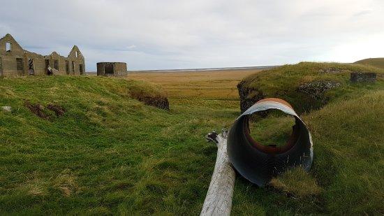 Hornafjorour, Islandia: non loin de la guesthouse