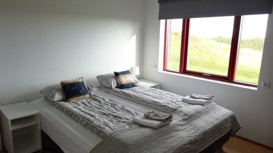 Hornafjorour, Islandia: chambre double avec salled'eau/wc privative