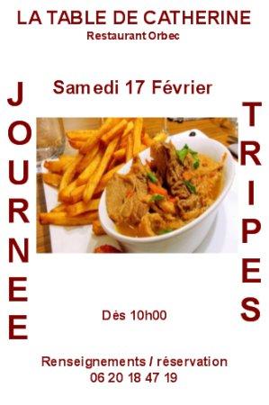 Orbec, France: Journée Tripes dès 10h.00 réservation souhaité