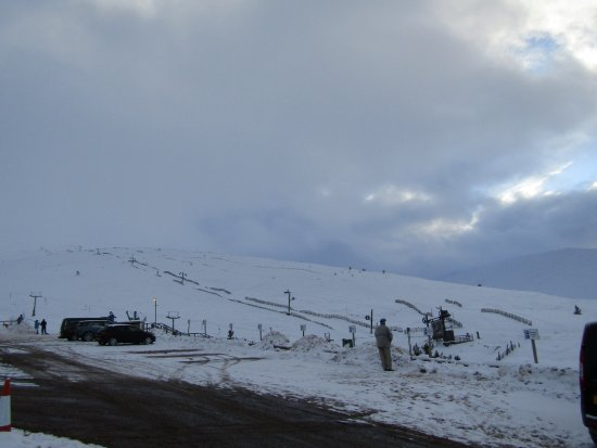 Aviemore and the Cairngorms, UK: Ski resort