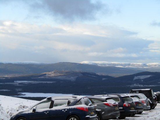 Aviemore and the Cairngorms, UK: View from the top