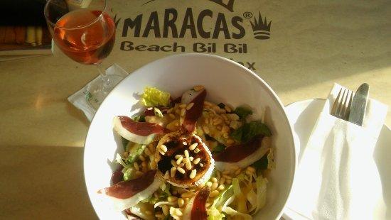 Maracas Beach Bar: Ensalada Bil-Bil