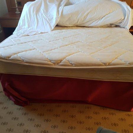 Old mattress - poor sleep