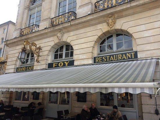 Restaurant Nancy Place Stanislas Foy