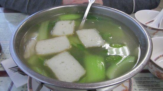 Wing Kee: Tofu en zee delicatessen soep