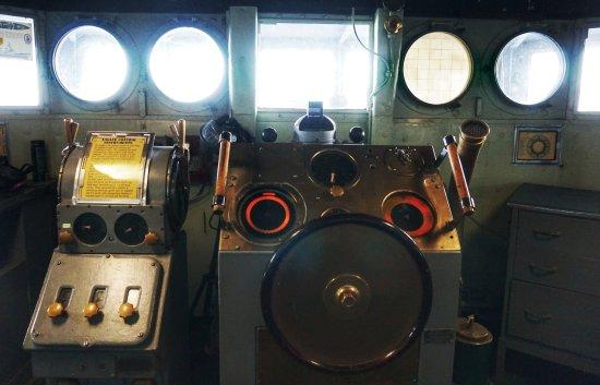 USS Turner Joy Museum Ship: Visiting the bridge