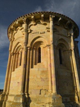 Trevino, Ισπανία: ermita románica de San Vicentejo. abside