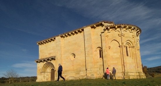 Trevino, Ισπανία: ermita románica de San Vicentejo