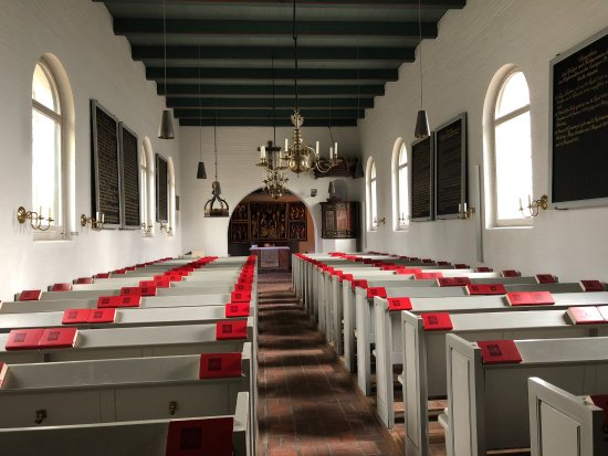 St. Niels, Westerland - Innenraum
