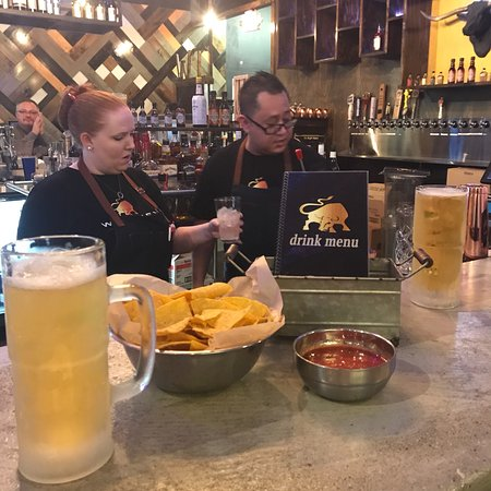 Hurricane, Virginia Occidentale: Whiskey Taco Chips and Salsa