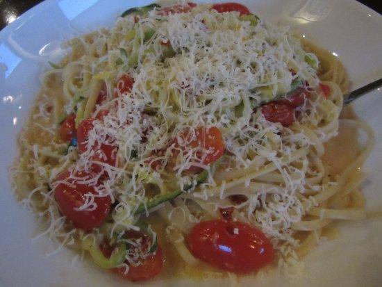Blasdell, Нью-Йорк: Spiralized veggie pasta