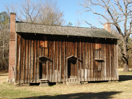 Stagville State Historic Site: Four original frame slave quarters help relate the story of Stagville's enslaved population.