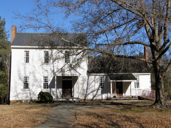 Stagville State Historic Site: The oldest portion of the Stagville plantation home was built in 1787.