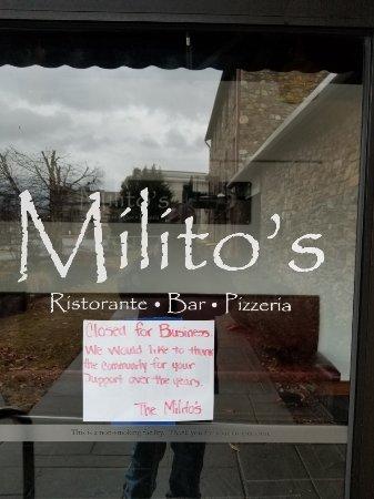Downingtown, بنسيلفانيا: Milito's