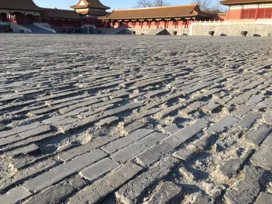 Forbidden City-The Palace Museum: the ground