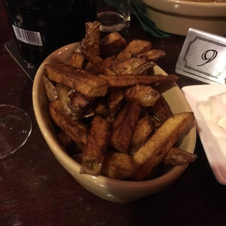 The Globe: Homemade chips