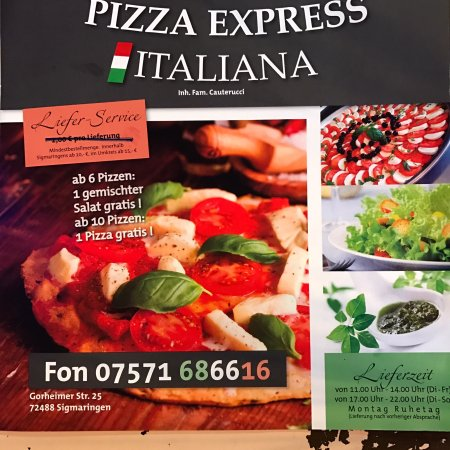 Photo6 Jpg Picture Of Pizza Express Italiana Sigmaringen
