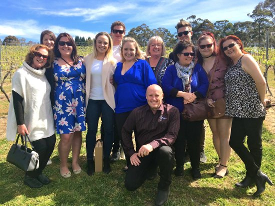 Mittagong, Australien: Jess' Hens Day With The Grape Escape