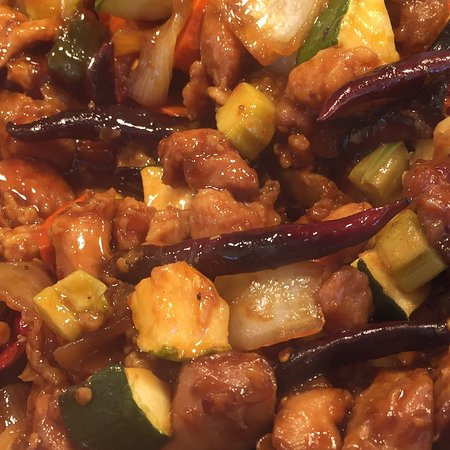 South Gate, CA: Kung Pao chicken