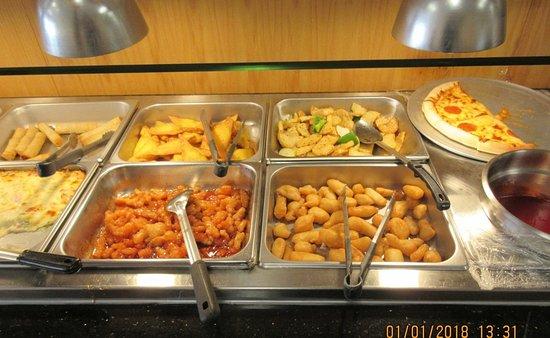 Champlain, نيويورك: Asian buffet