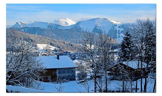Mondi-Holiday Alpenblickhotel Oberstaufen: View from the hotel