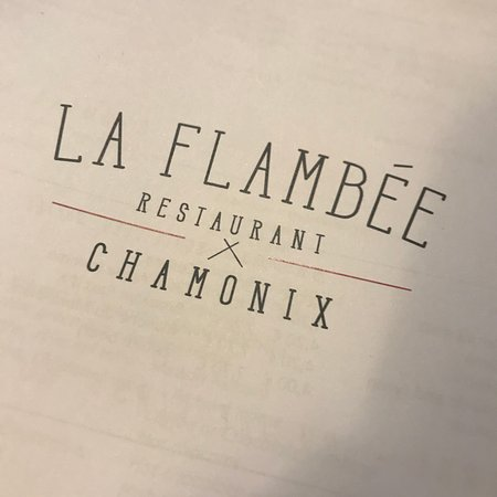 la flambee chamonix 232 avenue michel croz restaurant. Black Bedroom Furniture Sets. Home Design Ideas
