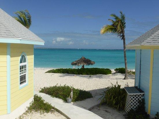 Paradise Bay Bahamas : Bungalows sur la plage