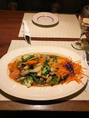 Naugatuck, CT: Thai basil stir fry