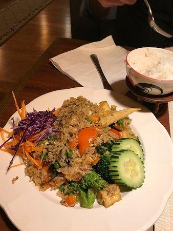 Naugatuck, CT: Thai basil fried rice