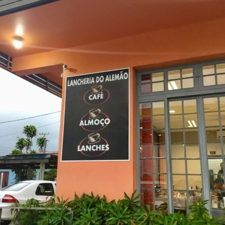 Lancheria e restaurante Alemão: Lancheria e restaurante Alemão