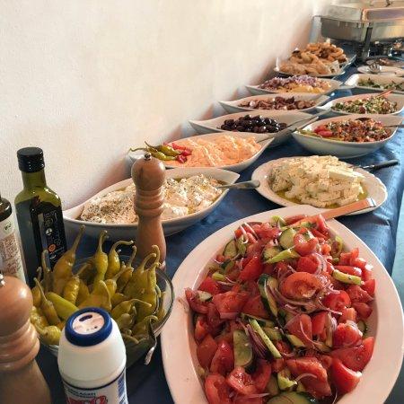 Mörfelden-Walldorf, Deutschland: For every taste.... Greek simplicity