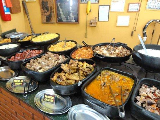 Piranguçu, MG: Restaurante Pé na Roça