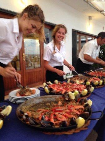 Cala Murada, İspanya: Great paella