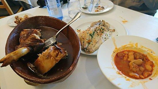 Asador Maribel Restaurante: Lunch for three
