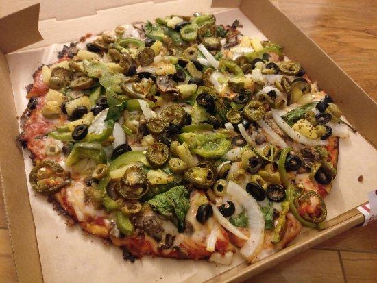 Donatos Pizza: Very Veggie Pizza.....