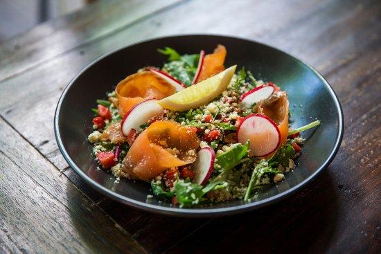The Windsor Hotel: Salmon Salad