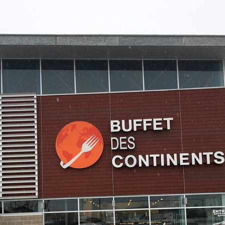 Coupons buffet des continents