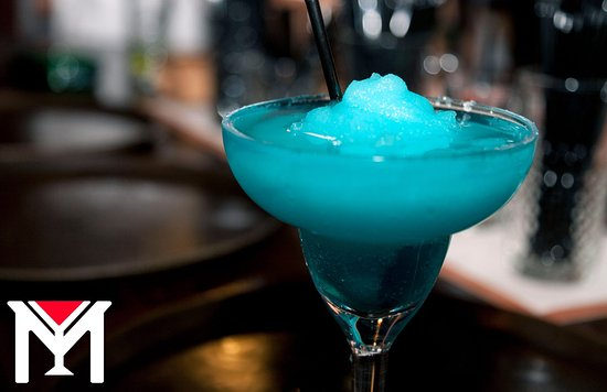 Blue Frozen Margarita! This one is for true tequila lovers