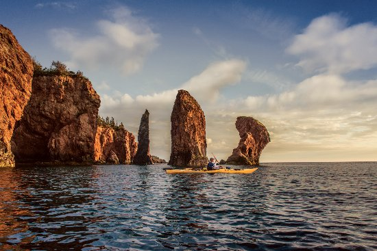 Advocate Harbour, Канада: Guide Jon at the Three Sisters (photo: Scott Munn)