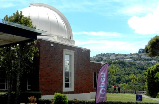 Space Place at Carter Observatory : entry