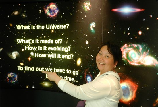 Space Place at Carter Observatory : what is the universe?