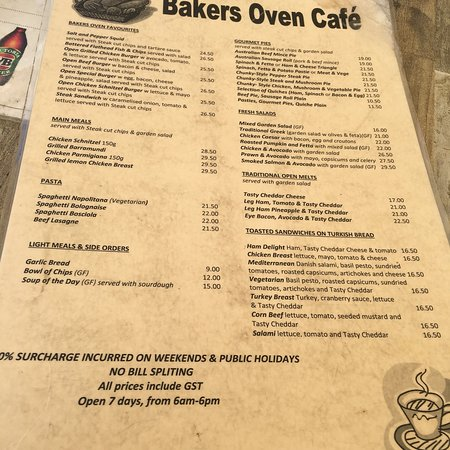 The Bakers Oven Cafe: photo0.jpg