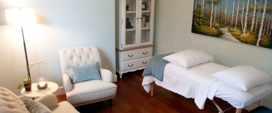 Surrey, Canada: Relaxing treatment room
