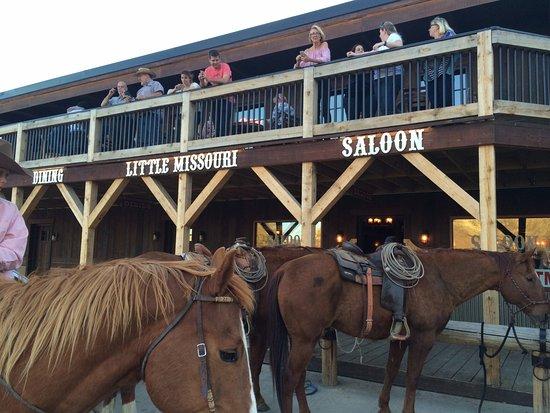Little Missouri Saloon Dining Room Medora Nd