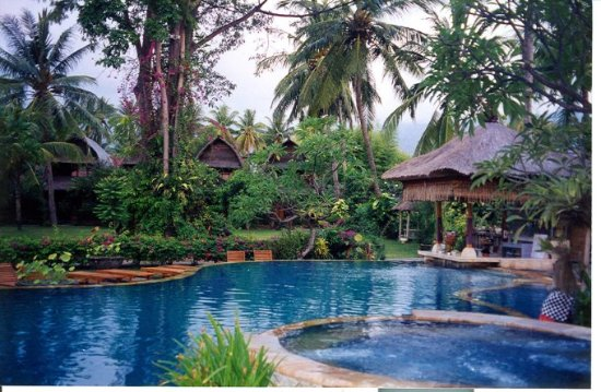 Kaliasem, Indonesia: Beautiful accomodations at Rambuttan Inn