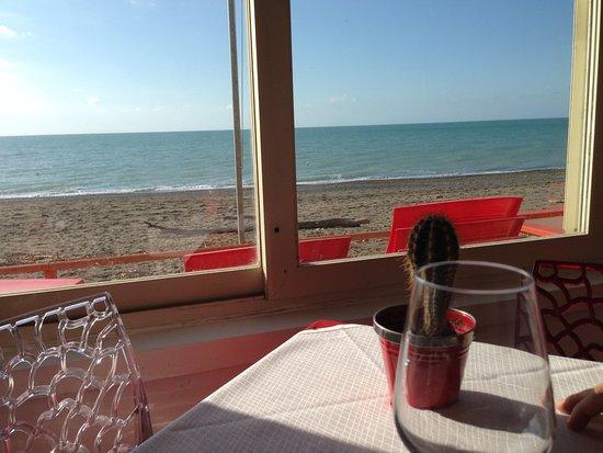 Ristorante Pizzeria Jolly Beach: Vista Mare, Aussicht