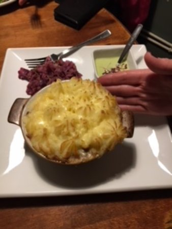 Badby, UK: Cottage Pie