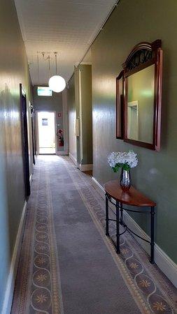 Abermain, Australien: Accommodation Hallways
